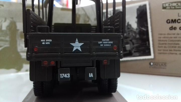 Maquetas: CAMION MILITAR GMC CCKW 353 II ED. ATLAS GUERRA MUNDIAL 1/43 EN CAJA NUEVO - Foto 7 - 112036155