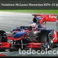 Maquetas: REVELL - VODAFONE MC LAREN MERCEDES MP4-25 JENSON BUTTON 07097 1/24. Lote 112096359