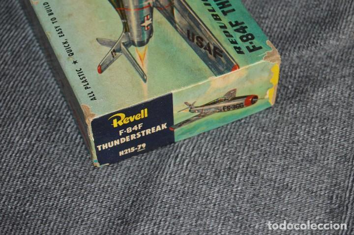 Maquetas: JOYA - VINTAGE - REVELL AUTHENTIC KIT - REPUBLIC F84F THUNDERSTREAK - H215 79 - AÑOS 50 - HAZ OFERTA - Foto 22 - 112228879