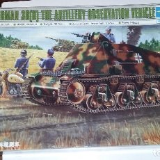 Maquetas: GERMAN 38 (H) ARTILLERY OBSERVATION VEHICLE. TRUMPETER 1/35. Lote 112238011