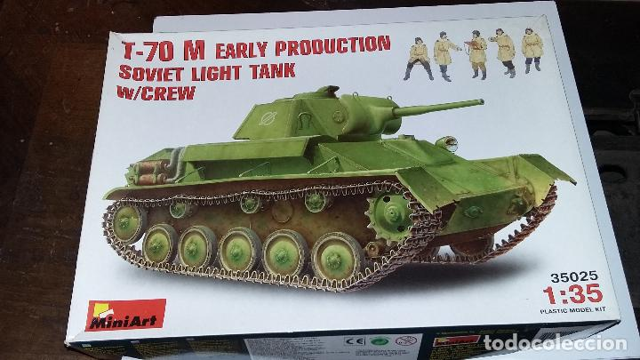 Maquetas: T 70 M Early Production soviet light tank. Miniart 1/35 - Foto 1 - 112238103