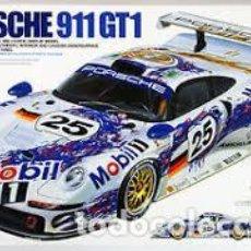 Maquettes: TAMIYA - PORSCHE 911 GT-1 24186 1/24. Lote 112271787