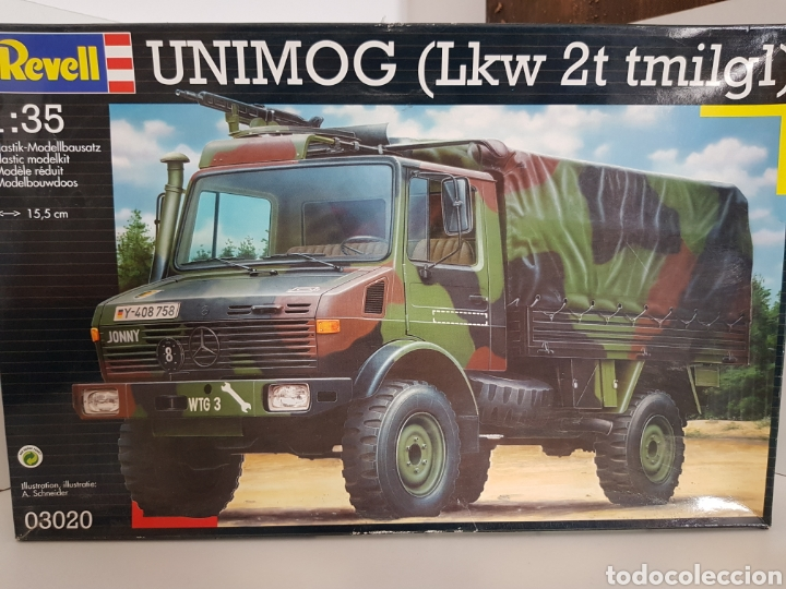 REVELL 03020 ESCALA 1:35 UNIMOG LKW 2T TMILGL MERCEDES (Juguetes - Modelismo y Radiocontrol - Maquetas - Militar)