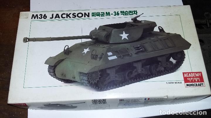M 36 JACKSON. ACADEMY 1/35 (Juguetes - Modelismo y Radiocontrol - Maquetas - Militar)