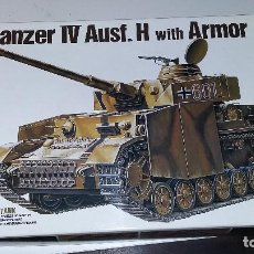 Maquetas: PANZER IV AUSF H WITH ARMOR. ACADEMY 1/35. Lote 112332819