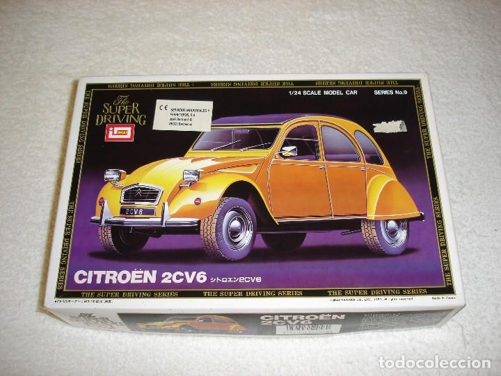 IMAI ESCALA 1/24 - CITROEN 2CV6 THE SUPER DRIVING SERIES - MADE IN JAPAN 1983 (Juguetes - Modelismo y Radiocontrol - Maquetas - Coches y Motos)