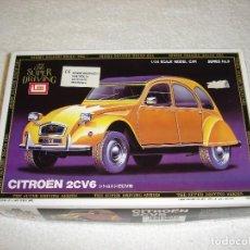 Maquetas: IMAI ESCALA 1/24 - CITROEN 2CV6 THE SUPER DRIVING SERIES - MADE IN JAPAN 1983. Lote 112449159