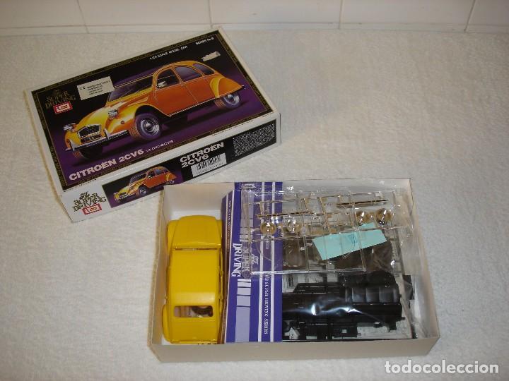 Maquetas: IMAI ESCALA 1/24 - CITROEN 2CV6 THE SUPER DRIVING SERIES - MADE IN JAPAN 1983 - Foto 2 - 112449159