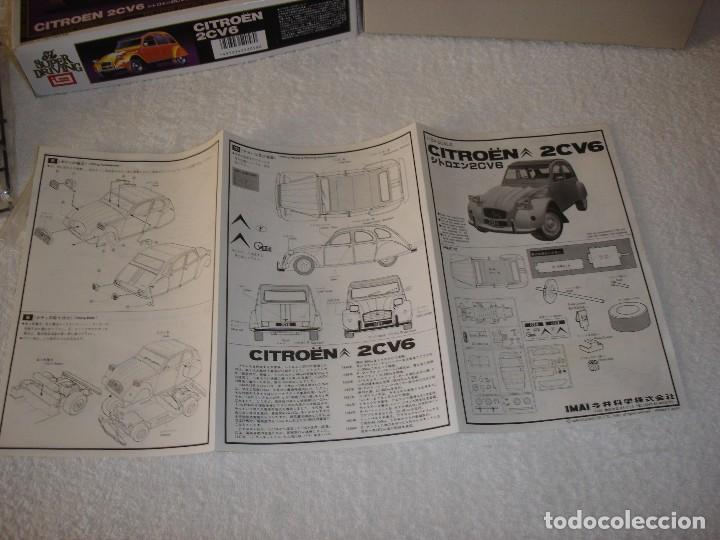 Maquetas: IMAI ESCALA 1/24 - CITROEN 2CV6 THE SUPER DRIVING SERIES - MADE IN JAPAN 1983 - Foto 4 - 112449159