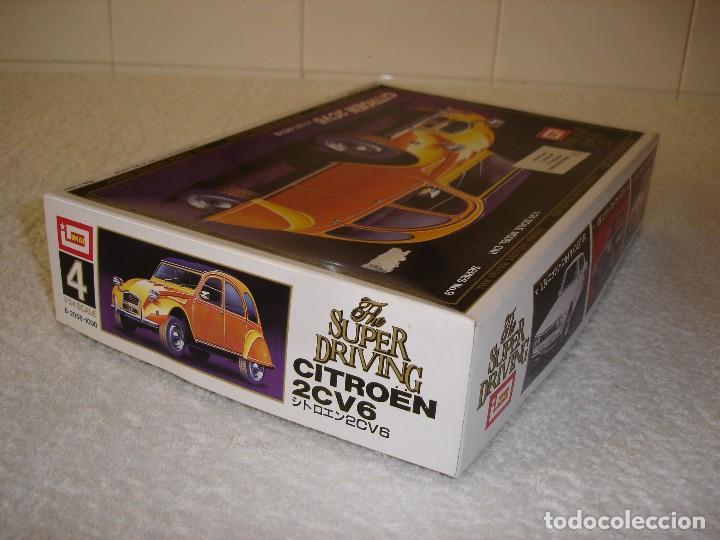 Maquetas: IMAI ESCALA 1/24 - CITROEN 2CV6 THE SUPER DRIVING SERIES - MADE IN JAPAN 1983 - Foto 5 - 112449159