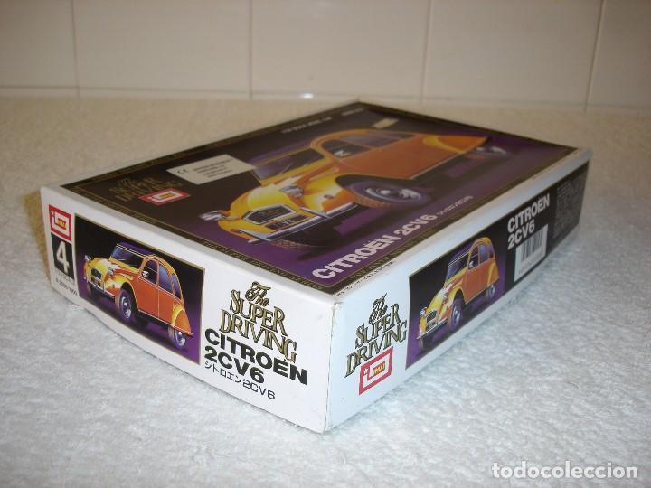 Maquetas: IMAI ESCALA 1/24 - CITROEN 2CV6 THE SUPER DRIVING SERIES - MADE IN JAPAN 1983 - Foto 6 - 112449159