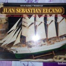 Maquetas: MAQUETA DE BARCO JUAN SEBASTIAN ELCANO. Lote 112475079