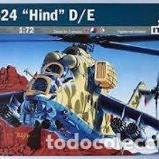 Maquetas: ITALERI - MIL-24 HIND D/E 014 1/72. Lote 112479903