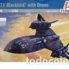 ITALERI - SR-71 BLACKBIRD WITH DRONE 145 1/72