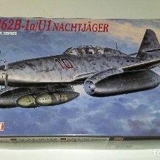 Maquetas: MESSERSCHMITT ME 262 B-1A / U1 NACHTJAGER. DRAGON 1/48. Lote 112526843
