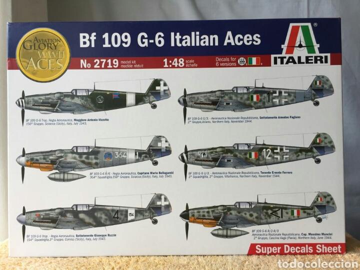 ITALERI MESSERSCHMITT BF109 G-6 ITALIAN ACES 1:48 (Juguetes - Modelismo y Radio Control - Maquetas - Aviones y Helicópteros)