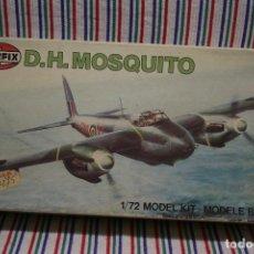 Maquetas: MAQUETA AIRFIX DH MOSQUITO A ESCALA 1/72. Lote 112639383