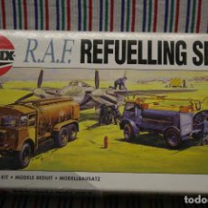 Maquetas: SET DE REABASTECIMIENTO DE COMBUSTIBLE DE LA RAF (2ª GUERRA MUNDIAL) DE AIRFIX A ESCALA 1/72. Lote 112639543