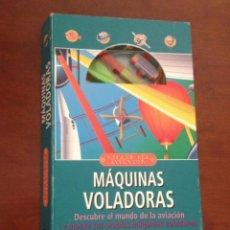 Maquetas: MAQUETA AVION LIBRO TALLER DEL INVENTOR, MAQUINAS VOLADORAS, STEVE HARRIS. Lote 112721363