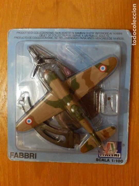 AVIÓN AG-P003 - MAQUETA A ESCALA 1:100 - FABBRI ITALERI - EN METAL - BLISTER SIN ABRIR (Juguetes - Modelismo y Radio Control - Maquetas - Aviones y Helicópteros)