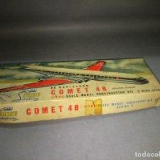 Maquetas: AIRFIX SKYKING DE HAVILLAND COMET 4B SCALE 1/144 WING SPAN 9 OLD STOCK 50/60 S . Lote 112902987