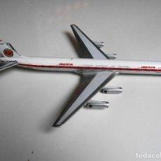 Maquetas: AVION IBERIA BOEING 747 EC BMY LINEAS AEREAS DE ESPAÑA AIRPLANE AIRCRAFT INFLIGHT IN FLIGHT METAL . Lote 112985047