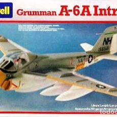 Maquetas: MAQUETA DEL CAZABOMBARDERO GRUMMAN A-6A INTRUDER DE REVEL A 1/100 (SEMIVINTAGE). Lote 113048635
