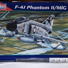 Maquetas: F 4J PHANTOM II. MIG ACE. MONOGRAM 1/48. Lote 113081587