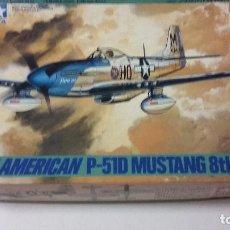 Maquetas: NORTH AMERICAN P-51D MUSTANG 8TH AIR FORCE. TAMIYA 1/48. Lote 113081775
