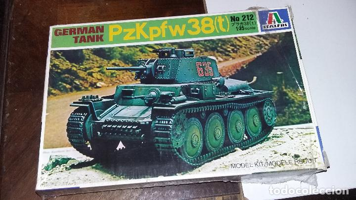 PANZER 38 (T). ITALERI 1/35 (Juguetes - Modelismo y Radiocontrol - Maquetas - Militar)