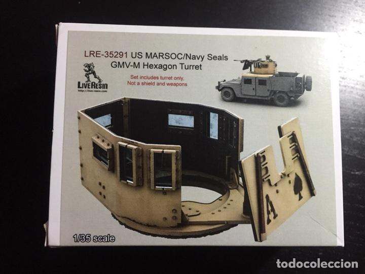TORRETA PARA VEHÍCULOS U.S. MARSOC 1:35 LIVE RESIN LRE-35291 MAQUETA VEHÍCULO CARRO (Juguetes - Modelismo y Radiocontrol - Maquetas - Militar)