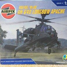Maquetas: AIRFIX BOEING MCDD AH-64D LONGBOW APACHE 1:72. Lote 113284484