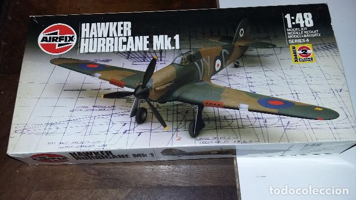 HAWER HURRICANE MK I. AIRFIX 1/48 (Juguetes - Modelismo y Radio Control - Maquetas - Aviones y Helicópteros)