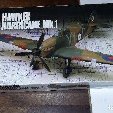 Maquetas: HAWER HURRICANE MK I. AIRFIX 1/48. Lote 113390923