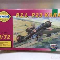 Maquettes: MAQUETA AVION 1/72 P.Z.L. P.23 KARAS. Lote 113504419