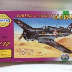Maquetas: MAQUETA AVION 1/72 CURTISS P-36/H.75 HAWK. Lote 113505463