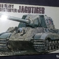 Maquetas: GERMAN HEAVY TANK DESTROYER JAGDTIGER. FUJIMI 1/72. Lote 113590223