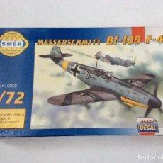 Maquetas: MESSERSCHMITT BF-109 F-4. Lote 113644095