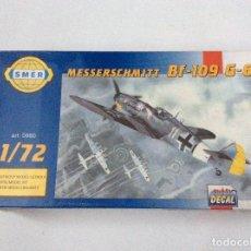 Maquetas: MESSERSCHMITT BF-109 G-6. Lote 113644175
