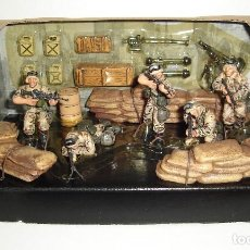 Maquetas: SET MILITAR DE SOLDADOS FORCES OF VALOR US AIRBORNE DIVISION 1/32. Lote 113887263