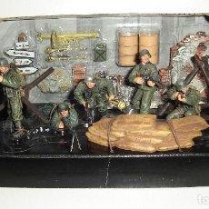 Maquetas: SET MILITAR DE SOLDADOS FORCES OF VALOR GERMAN INFANTRY DIVISION 1/32. Lote 113887503
