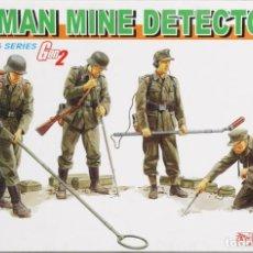 Maquetas: MAQUETA FIGURAS GERMAN MINE DETECTORS, REF. 6280, 1/35, DRAGON. Lote 159587017