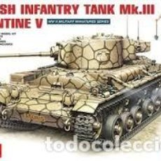Maquetas: MAQUETA 1/35 - BRITISH INFANTRY TANK MK.III VALENTINE V. Lote 114255127