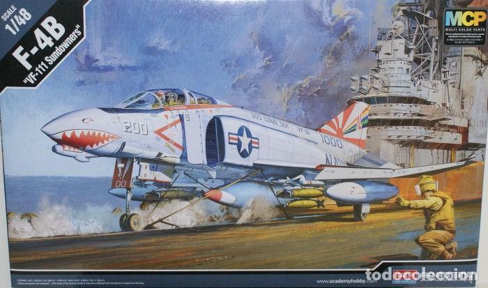 MAQUETA 1/48 - F-4B PHANTOM II (Juguetes - Modelismo y Radio Control - Maquetas - Aviones y Helicópteros)