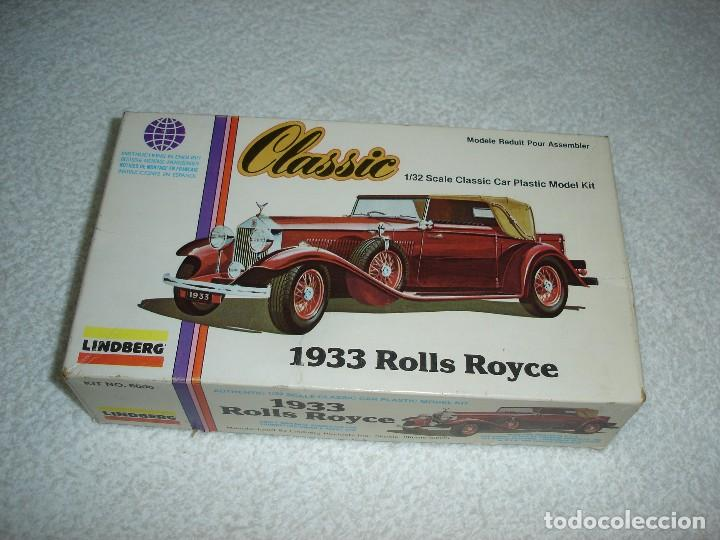 Maquetas: LINDBERG CLASSIC. ESCALA 1/32 - 1933 ROLLS ROYCE - MADE IN USA 1979 - Foto 1 - 114394011