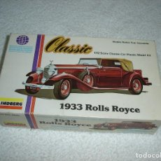 Maquetas: LINDBERG CLASSIC. ESCALA 1/32 - 1933 ROLLS ROYCE - MADE IN USA 1979. Lote 114394011