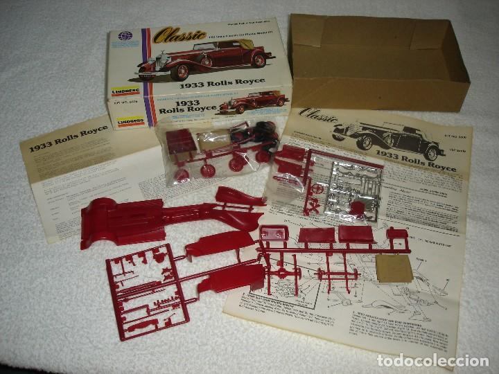 Maquetas: LINDBERG CLASSIC. ESCALA 1/32 - 1933 ROLLS ROYCE - MADE IN USA 1979 - Foto 2 - 114394011