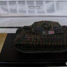 Maquetas: DRAGON ARMOR 1/72 KINGTIGER PORSCHE TURRET SPZABT 503 FRANCE 1944 REF. 60042 - DIE CAST 1:72 - 1/72. Lote 114458255