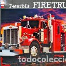 Maquetas: REVELL - PETERBILT FIRETRUCK 07529 1/25. Lote 114464627