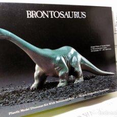 Maquetas: DINOSAURIO (1987) BRONTOSAURUS / BRONTOSAURIO - LINDBERG HOBBIES INC.. Lote 114546519